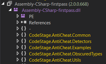 Anti-cheat assemblies in Muse Dash